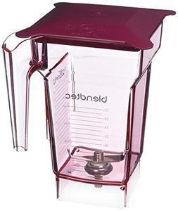 Blendtec 40-619-62 Blender Jar, 2 Quart, Red