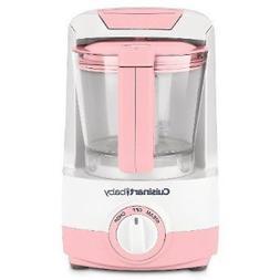 Cuisinart BFM-1000PK Baby Food Maker and Bottle Warmer, Pink