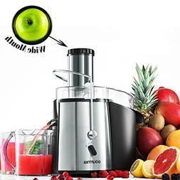 Gourmia GJ750 Wide Mouth Fruit Centrifugal Juicer 850 Watts