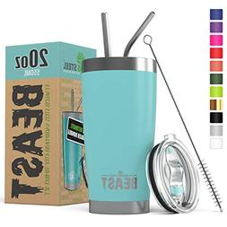 BEAST 20oz Tumbler Insulated Stainless Steel Coffee Cup with
