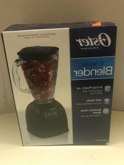 Oster Blender 10 Speed 700W with 6 Cup Jar 006706 Black - Br