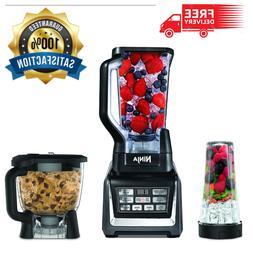 Blender 72 oz Ninja Auto-iQ 3 piece Kitchen System 1200 watt