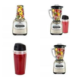 Oster Blender with Travel Smoothie Cup Chrome Home Kitchen A