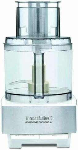 Cuisinart DFP-14BCWNY 14-Cup Food Processor, Brushed Stainle