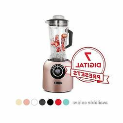 Dash DPB500RS Chef Series Blender with Stainless Steel Blade