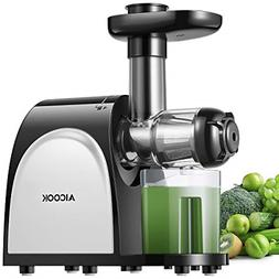 Juicer, Aicook Slow Masticating Juicer, Cold Press Juicer Ma