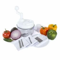 Kitchen + Home Manual Food Chopper - 4 in 1 Miracle Chopper