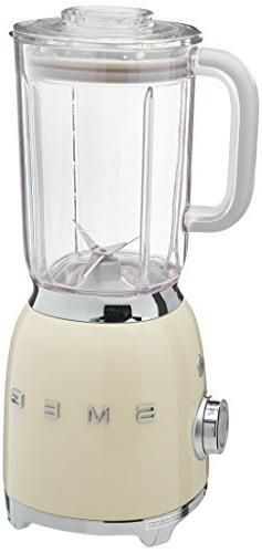 Smeg BLF01CRUS 50s Style Blender, Cream