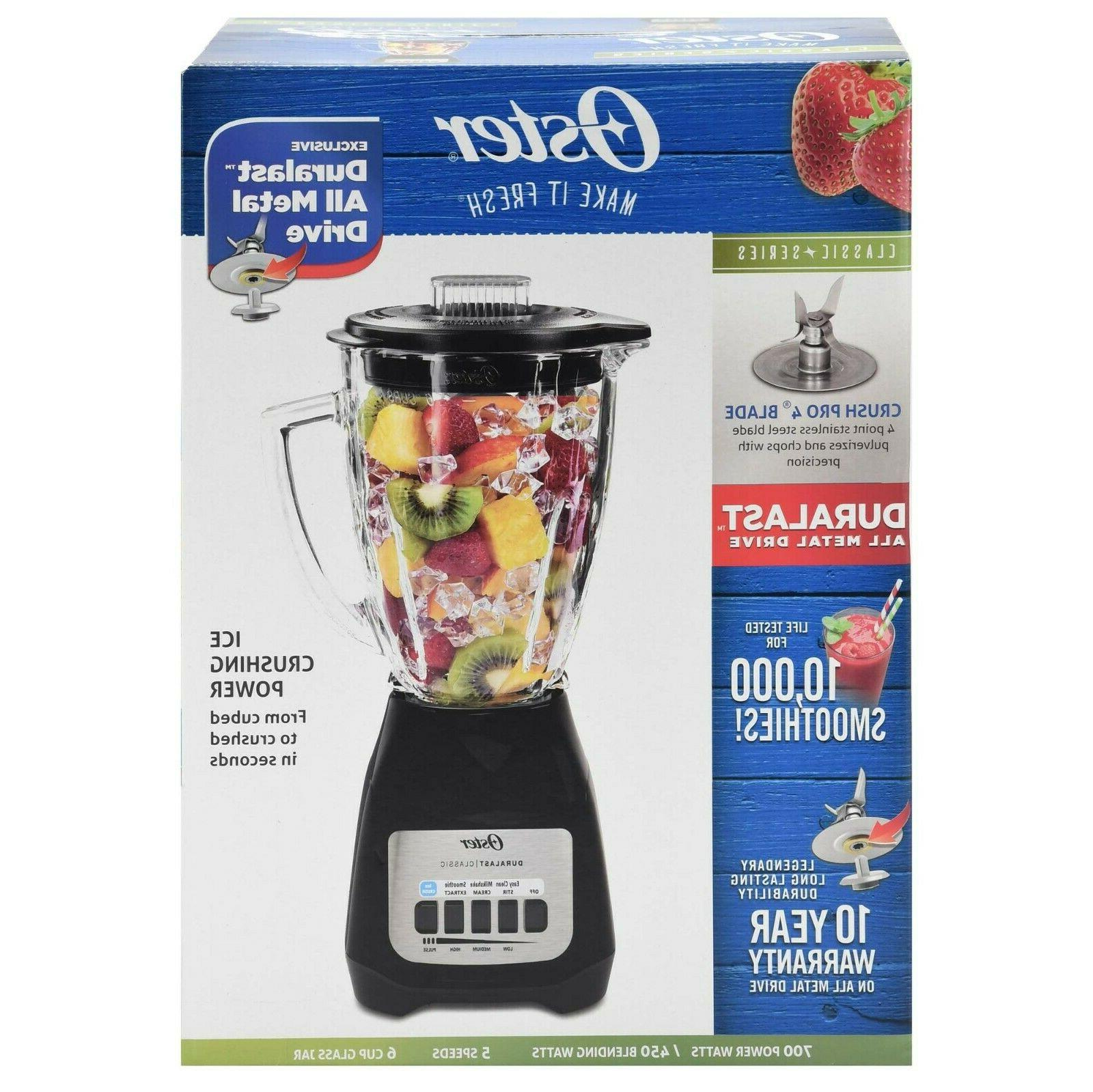 Oster Classic Series Blender, Dishwasher Stainless Steel