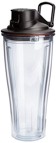Vitamix - 20-oz. Container/travel Cup - Clear