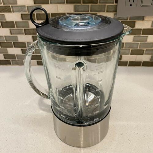 ikon hemisphere blender replacement glass jar w