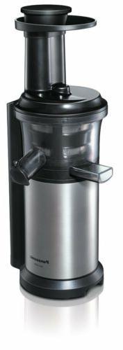 NEW Panasonic MJ-L500-S vitamins server Slow juicer silver F