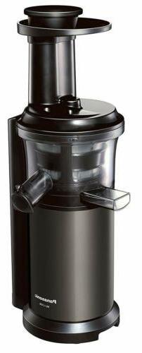 Panasonic Slow Juicer VITAMIN SERVER MJ-L600-H Graphite Gray