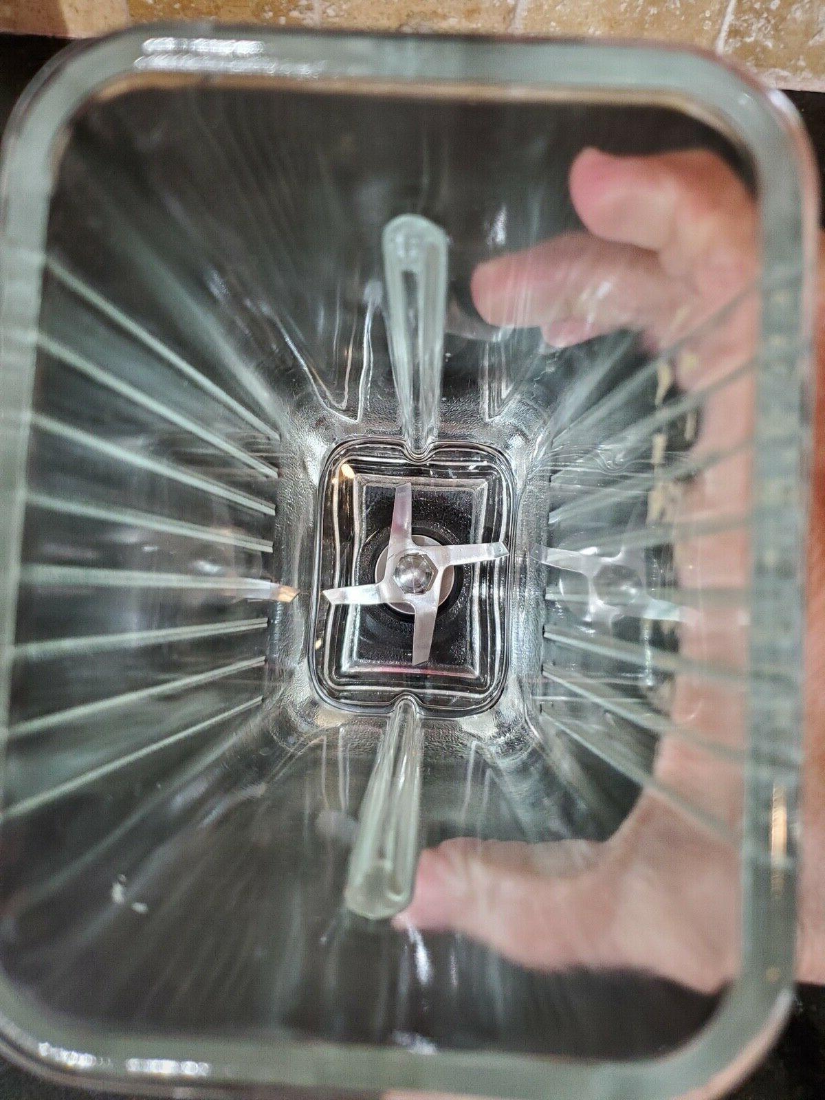 Vintage BL Glass Jar