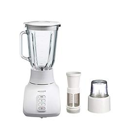 Panasonic MX-GX1581W Glass Jar 4-in-1 Blender with Dry Mill