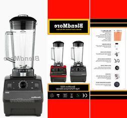 "NEW-BlendMore 6000-3 HP Blender-w/ "" Vitamix Cookbook """
