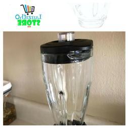 Parts NEW 6-Cup Glass Jar Oster Blender Black Lid Blender Re