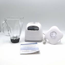 Oster Simple Blend 200 Blender 10 Speed White with Crush Pro