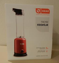 DASH Sport Blender Model DPB100RD - Red - Brand New in Box -