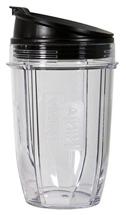Nutri Ninja 18-Ounce BPA-Free Tritan Cup with Spout Lid for